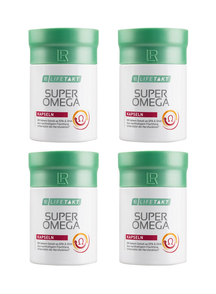 LR Health & Beauty LR LIFETAKT Super Omega Kapsle 4x60 kapslí