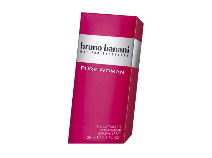 bruno banani pure woman edt 20ml