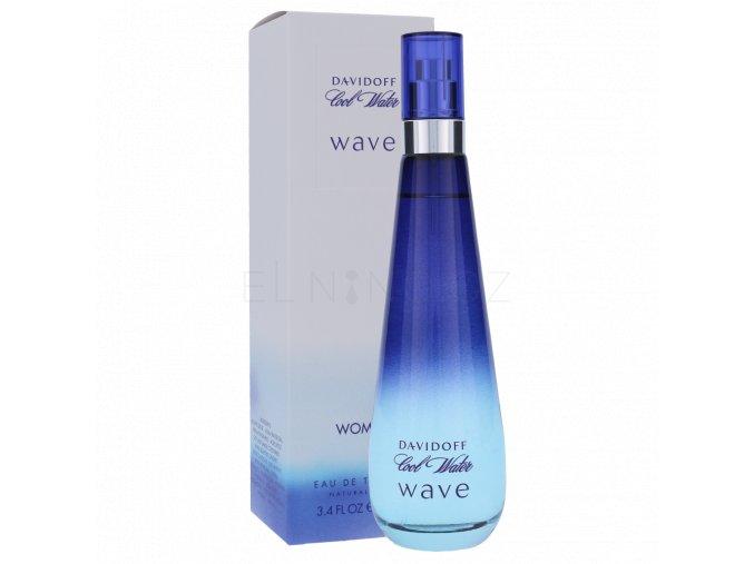 davidoff cool water wave woman toaletni voda pro zeny 100 ml 201992