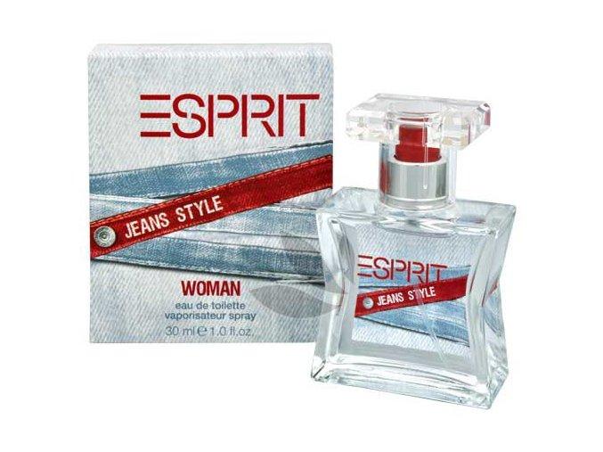 esprit jeans style woman toaletni voda s rozprasovacem 30 ml