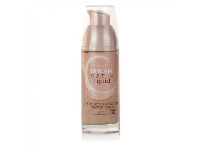 maybelline dream satin liquid foundation ivory 010 155794