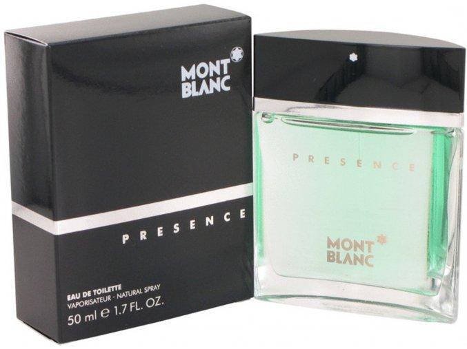 mont blank presence for men edt 50 ml