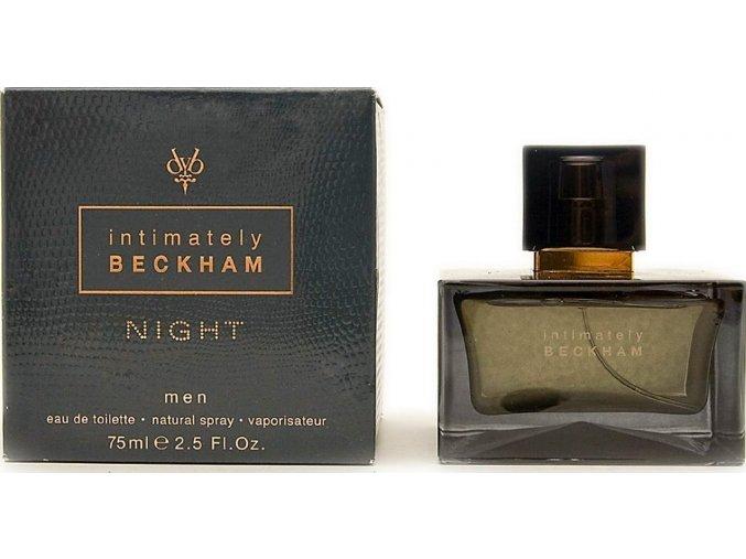 2) DAVID BECKHAM BECKHAM INTIMATELY NIGHT WOMEN EDT 75ML WOMEN