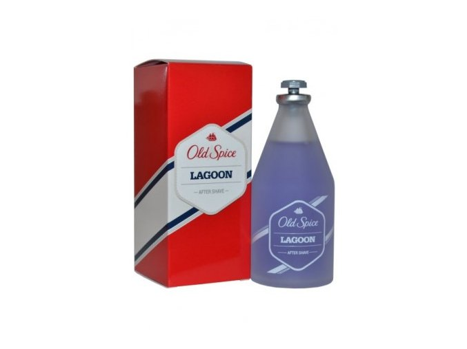 old spice lagoon aftershave european 100ml glass