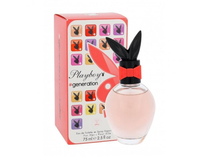 playboy generation for her toaletni voda pro zeny 75 ml 221243