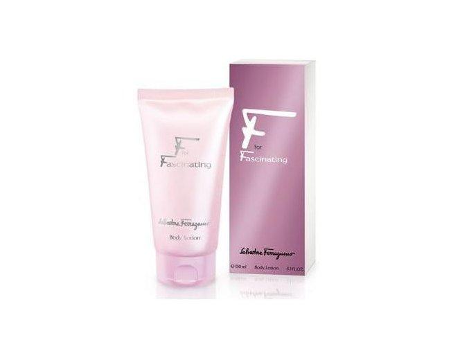 salvatore ferragamo fascinating body lotion 50ml