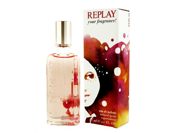 replay your fragrance for her edt 50ml