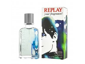 replay your fragrance man edt  75 ml