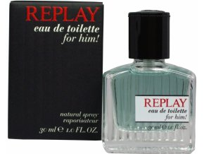 replay ed toilet for him edt 30ml