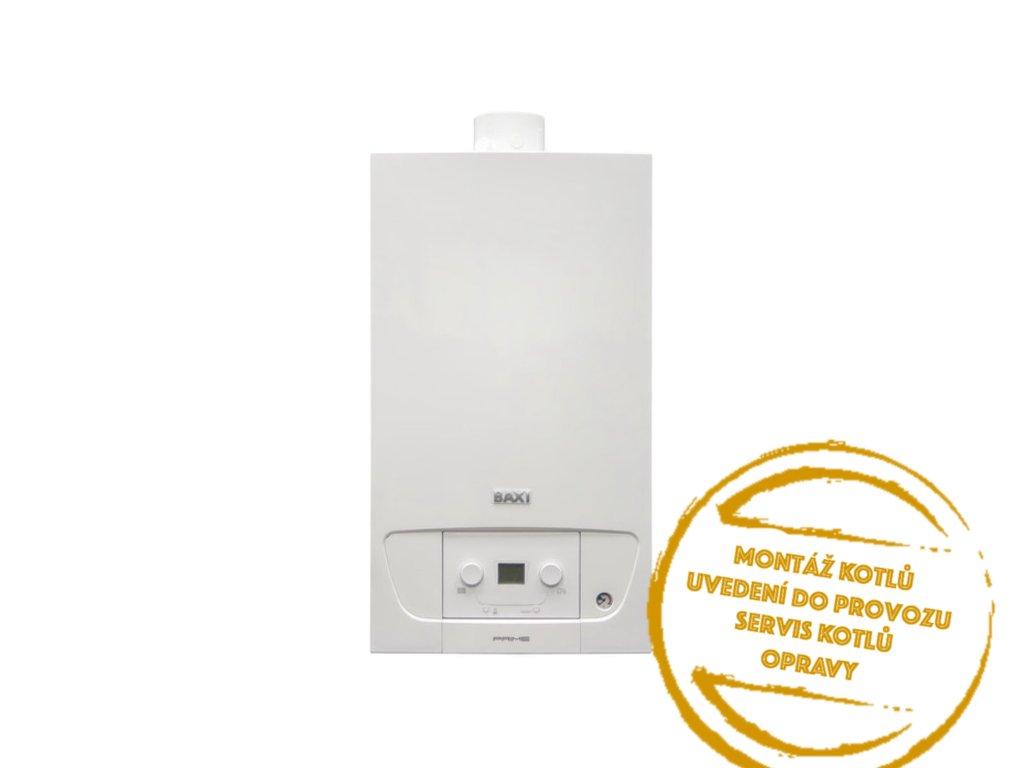 Kotel plynový závěsný kondenzační Baxi Prime 28 ERP 5 28 kW Kotelnaklic