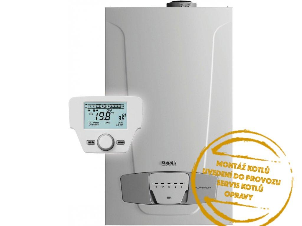 Kotel plynový závěsný kondenzační Baxi LUNA PLATINUM+ 24 ERP 2,4 24 kW Kotelnaklic