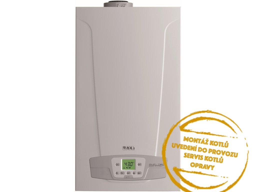 Kotel plynový závěsný kondenzační Baxi DUO TEC COMPACT PLUS 24 ERP 3,4 24 kW Kotelnaklic