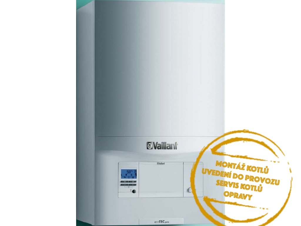Kotel plynový závěsný kondenzační Vaillant VUW 2365 3 A ecoTEC pro ERP 5,7 19,7 kW (23 TV) Kotelnaklic