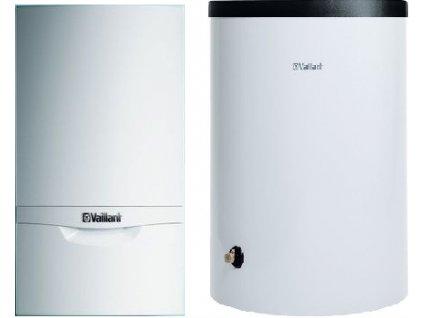 kotel plynovy zavesny kondenzacni Vaillant VU 306:5 5+VIH R 150:6 B+propoj 30 kW, 150l zásobník kotelnaklic cz