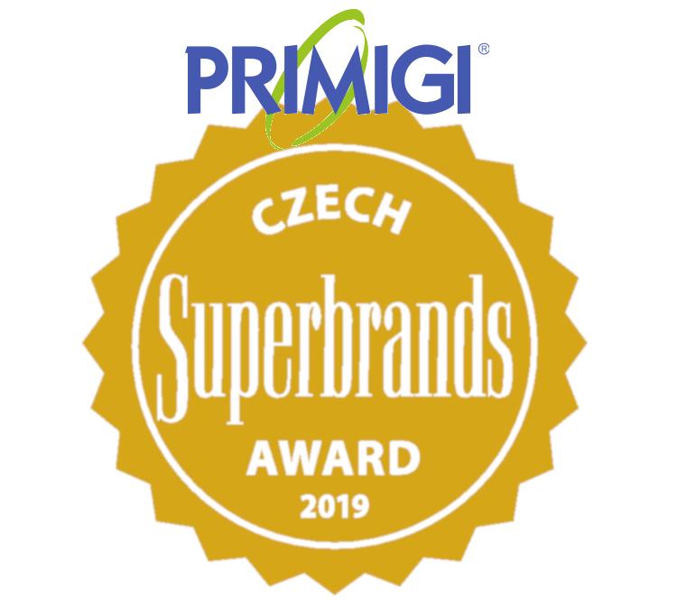 Značka Primigi obhájila i v letošním roce cenu Czech Superbrands