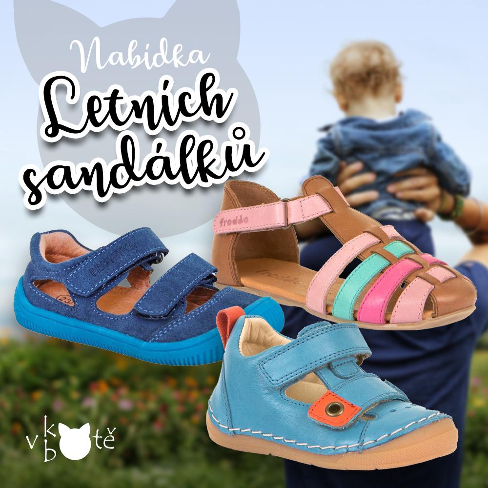 Letní sandálky skladem