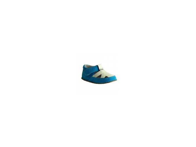 sandaly modre