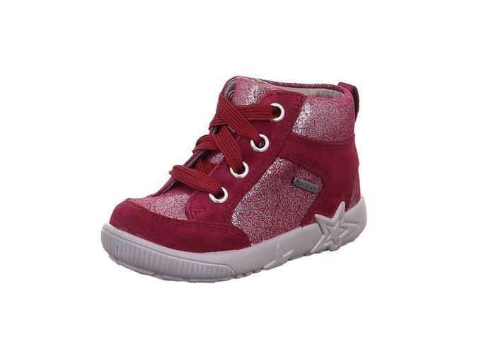 Celoroční obuv Superfit Starlight red 50944450