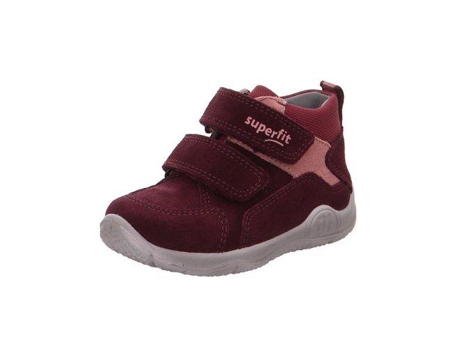 Celoroční obuv Superfit Universe red 50941850