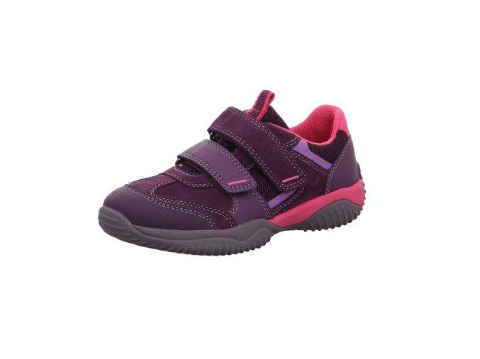 Celoroční obuv Superfit Storm Lila/rosa 50938490