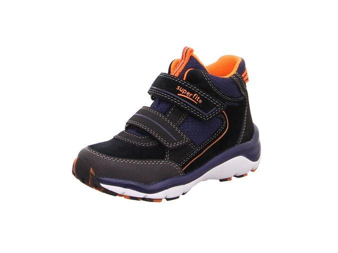 Celoroční obuv Superfit Sport5 schwarz/blue 50923900