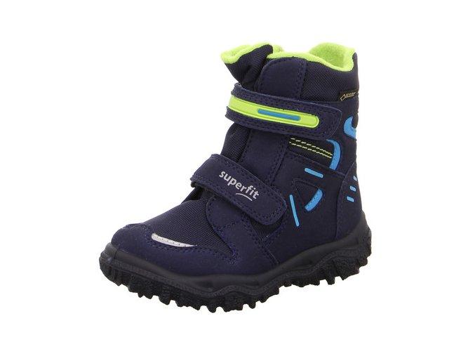 Zimní obuv Superfit Husky2 Blue/green 5-09080-80
