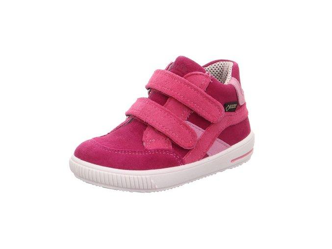 Celoroční obuv Superfit Moppy Red/pink
