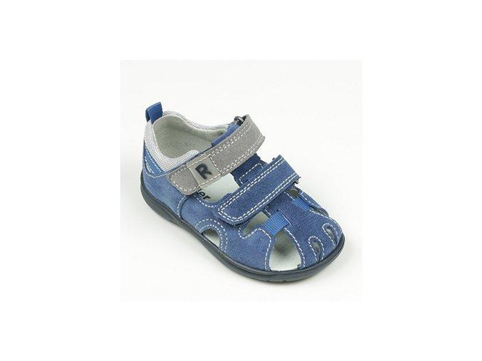 Sandálky Richter Babel blue/stone/flint