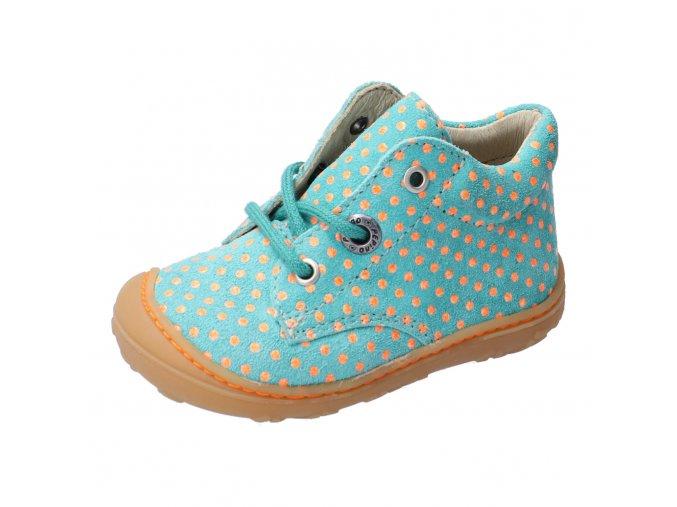 Celoroční bota Ricosta Dots jade 12232-541