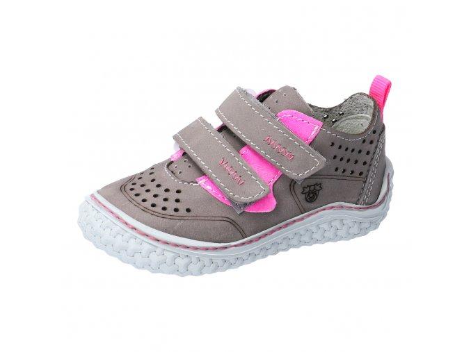 Celoroční bota Ricosta Chapp graphit/neon pink 17207-461
