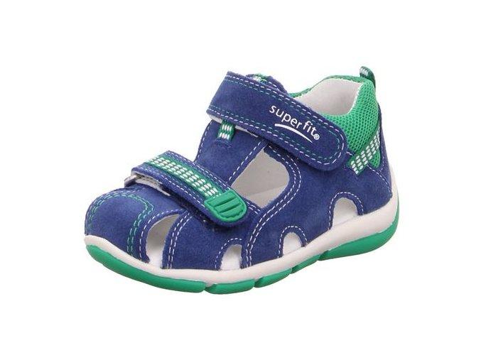 Sandálky Superfit Freddy Blue 4-00140-82