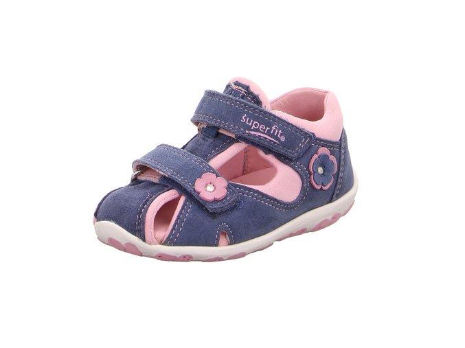 Sandálky Superfit Fanni Blue/pink