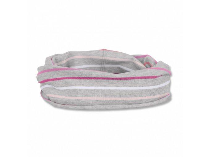 Šátek allrounder pink