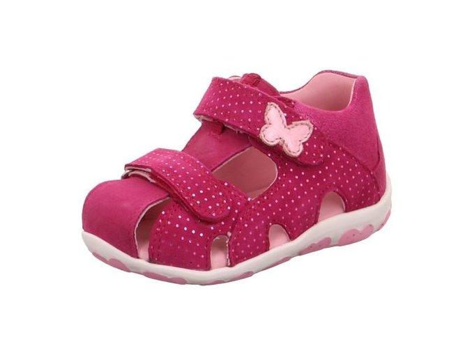 Sandálky Superfit Fanni Pink