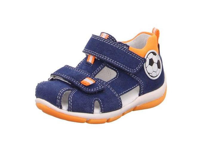Sandálky Superfit Freddy Blue/orange