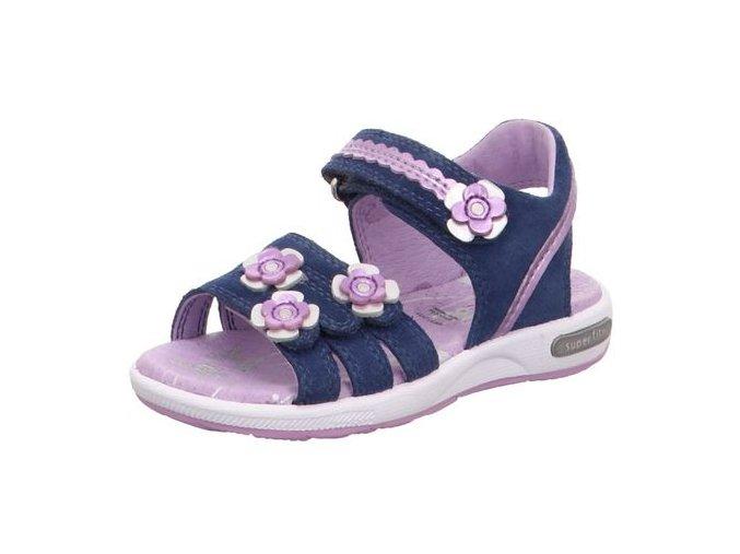 Sandálky Superfit Emily Blue/violet