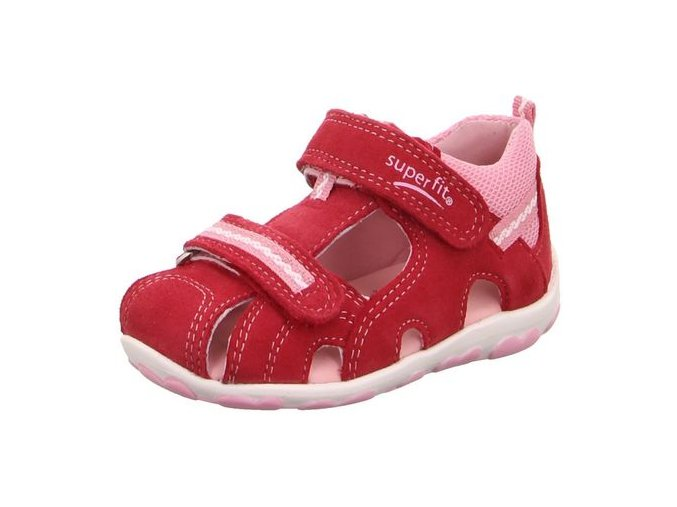 Sandálky Superfit Fanni Red/pink 400036-52