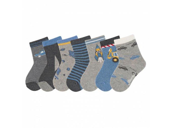 Ponožky Sterntaler 7 párů kluk