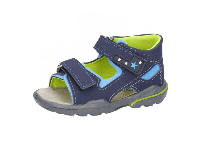 Sandálky Ricosta Manto nautic 32339-183