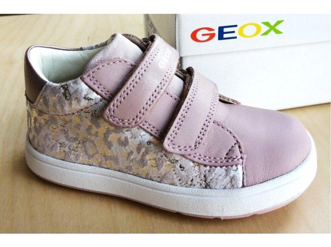 Celoroční bota Geox B044CC Biglia Lt rose