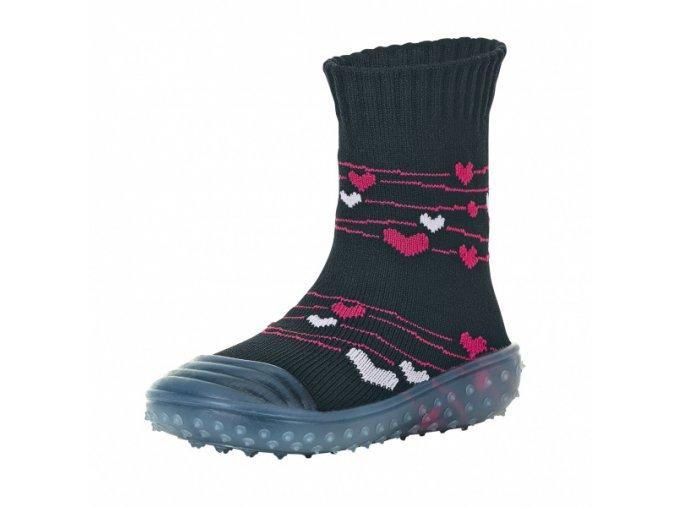Ponožky Sterntaler Adventure Srdíčka 8362002