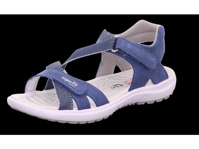 Sandálky Superfit Rainbow blau 0-609203-8100