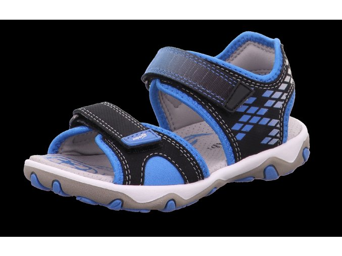 Sandálky Superfit Mike schwarz/blau 0-609466-0000