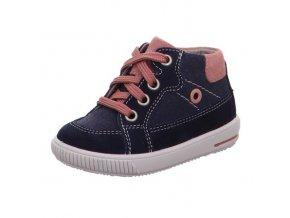 Celoroční obuv Superfit Moppy blue/pink 50035981