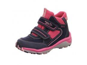 Celoroční obuv Superfit Sport5 blue/pink 50923982