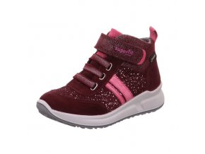 Celoroční obuv Superfit Merida red 50918450