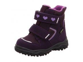 Zimní obuv Superfit Husky lila 509045-90
