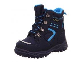 Zimní obuv Superfit Husky blue tkaničky 80904880