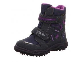 Zimní obuv Superfit Husky2 Blau/lila