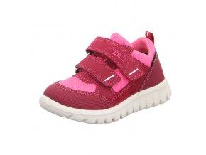 Celoroční obuv Superfit Sport7mini Red/pink